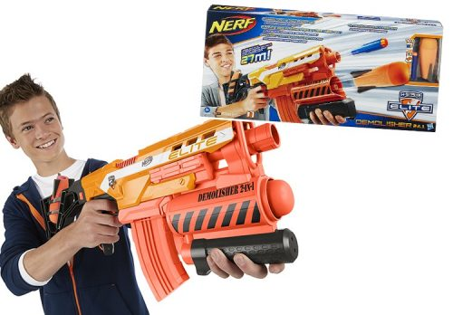 NERF Elite Demolisher 2 En 1