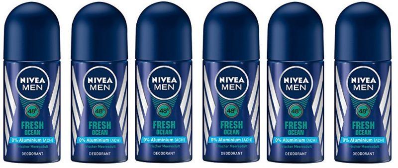Pack Desodorante Nivea Men Fresh Ocean 48 horas