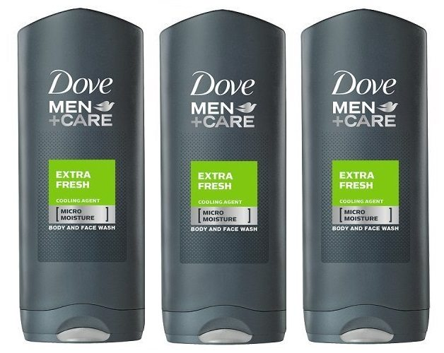 Pack Dove Men+ Care Extra Fresh Gel de ducha