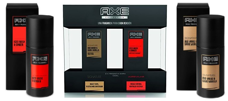 Pack perfume AXE Fragancia diaria