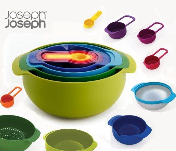 Joseph & Joseph Nest 9 Plus - Conjunto de utensilios