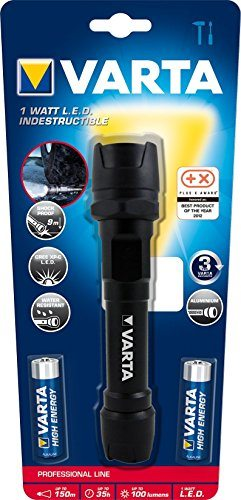 Linterna Varta Professional Line Indestructible LED Light 2AA