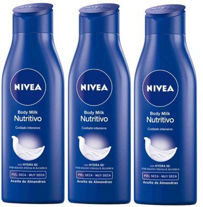 NIVEA Body Milk Nutritivo con Hydra IQ y Aceite de Almendras