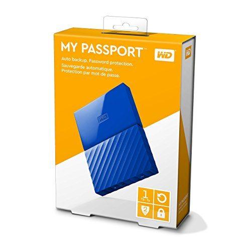 WD My Passport - Disco duro externo portátil