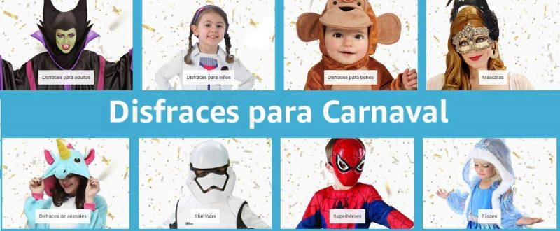 Disfraces exprés con Prime Now: Carnaval 'last minute'