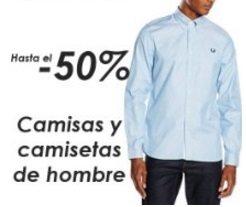 Camisas y camisetas de hombre - Hasta el 50% de descuento