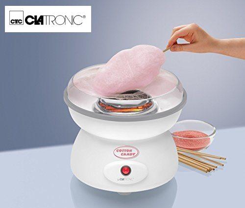 Clatronic ZWM 3478 - Máquina de hacer algodón de azúcar