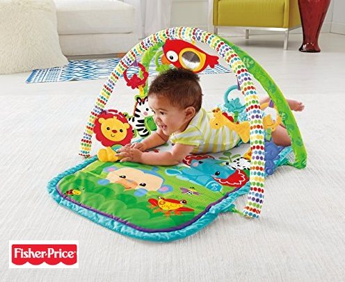 Fisher-Price - Gimnasio musical animalitos (Mattel CHP85)