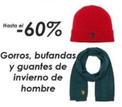Gorros, bufandas y guantes de invierno de hombre - Hasta el 60% de descuento