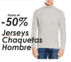 Jerseys y chaquetas de hombre – Hasta un 50% de descuento