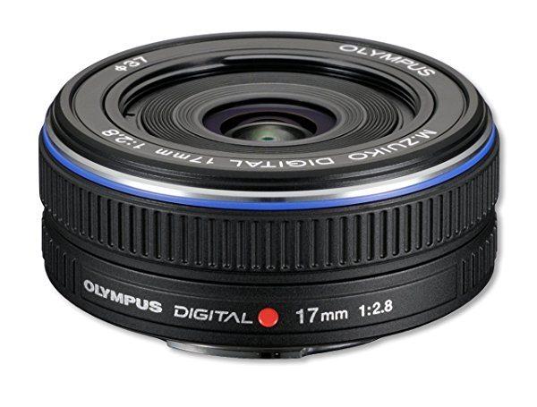 Olympus M.Zuiko Digital 17mm - Objetivo para Micro Cuatro Tercios