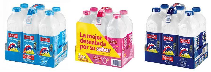 Paquete de 6 x 1200 ml leche Pascual