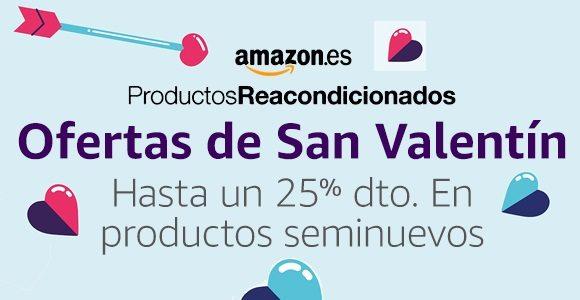 Ofertas Sant Valentin Seminuevos Amazon