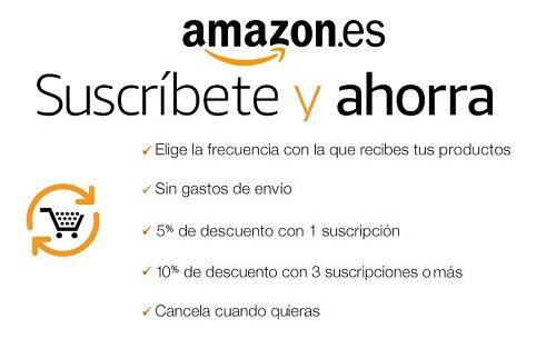 Amazon lanza Suscribete y ahorra