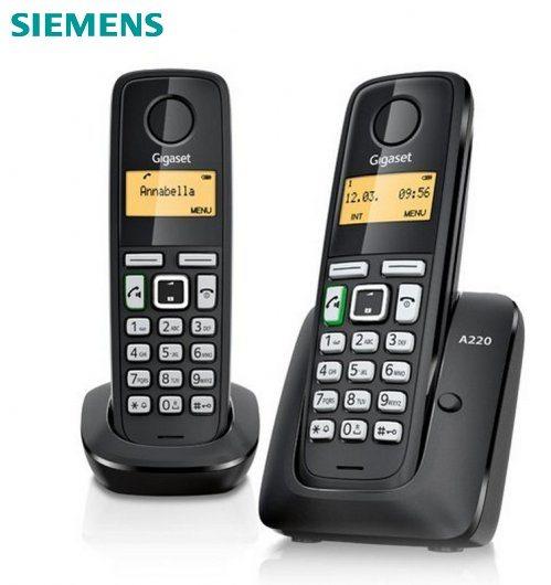 Teléfono Inalámbrico Gigaset A220 Duo