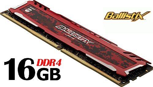 Memoria Ballistix Sport LT DDR4 de 16Gb