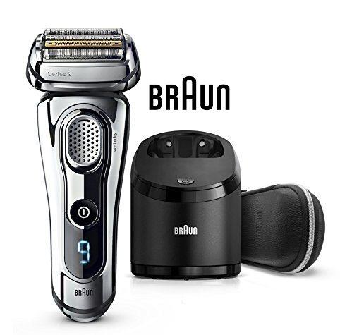 Braun Series 9 9296 cc Premium - Afeitadora eléctrica con Tecnología Wet & Dry y sistema Clean & Charge