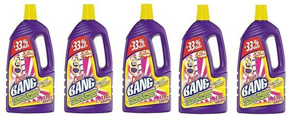 Pack de 5 CILLIT BANG limpiador suelos y antigrasa