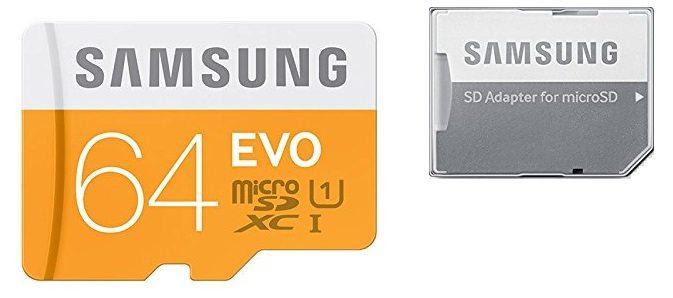 Samsung EVO MicroSDxc 64gb MB-MP64D/EU