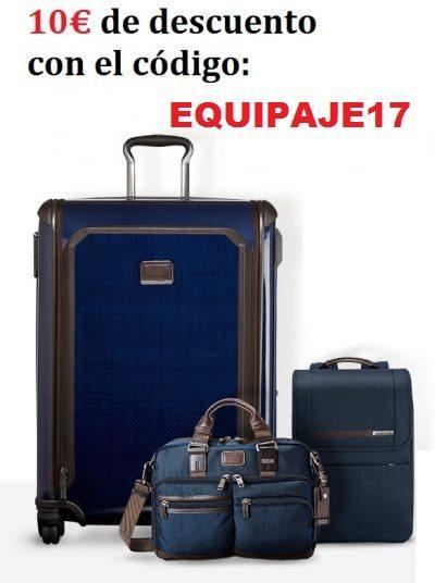 Codigo promocional 10 euros descuento equipaje