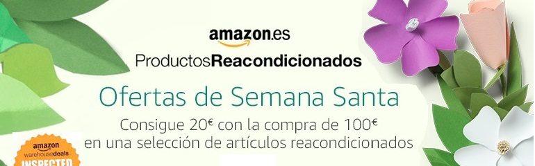 Productos reacondicionados Amazon descuentos