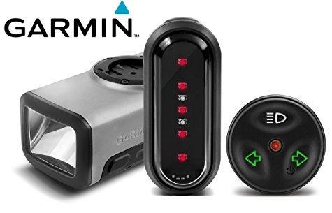 Garmin Varia - Pack con luz frontal y trasera para bicicleta