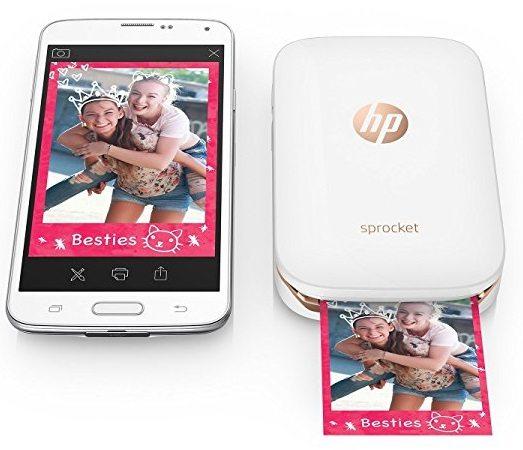 Impresora fotográfica HP Sprocket portátil