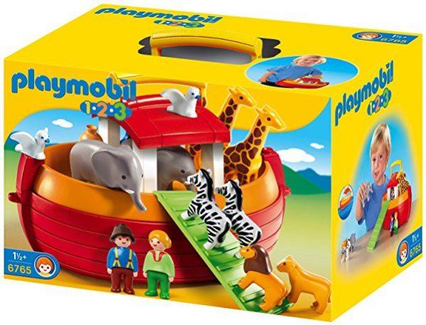 Maletín Playmobil 1.2.3 Arca de Noé