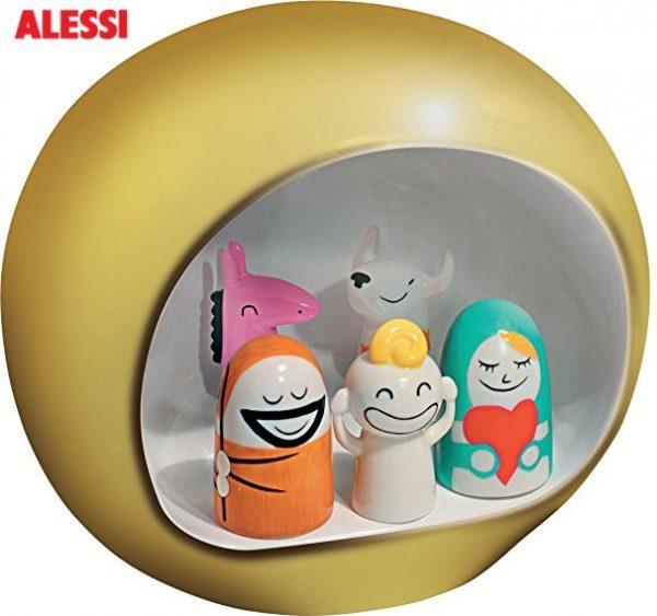Alessi AMGI10 GD - Juego de figuritas de belén