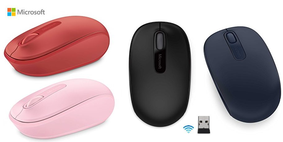 Ratón Microsoft Wireless Mobile Mouse 1850