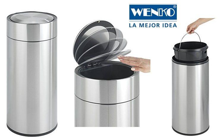 Wenko 22158100 - Cubo de basura con sensor