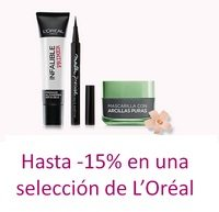 -15% en productos seleccionados de L'Oréal