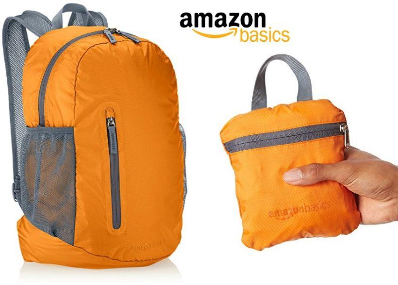 Mochila plegable AmazonBasics de 25 litros