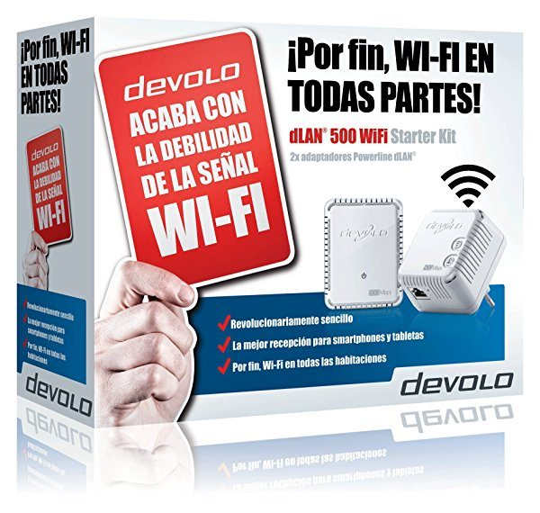 Starter Kit PLC Devolo dLAN 500 WiFi