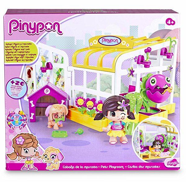 Pinypon - Playset cabaña de mascotas Famosa 700012739