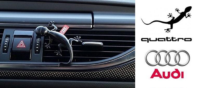 Ambientador Original Audi Gecko quattro aromático
