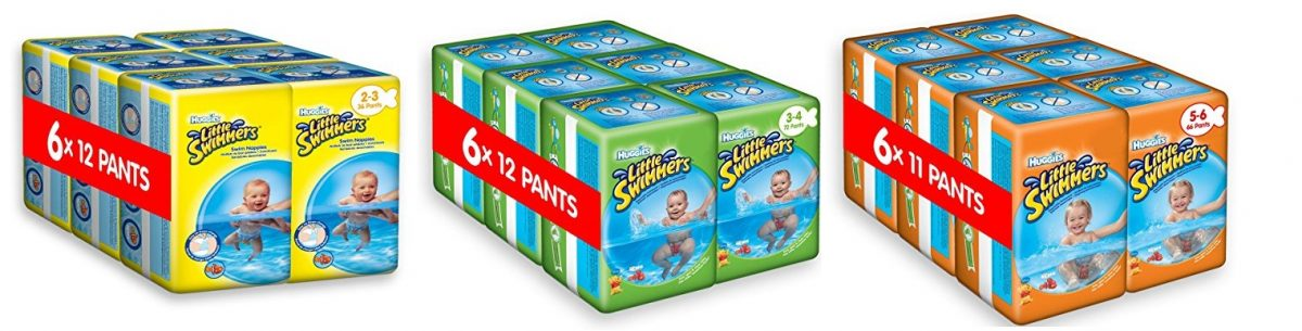 Huggies Little Swimmers desechables pañales de nadar
