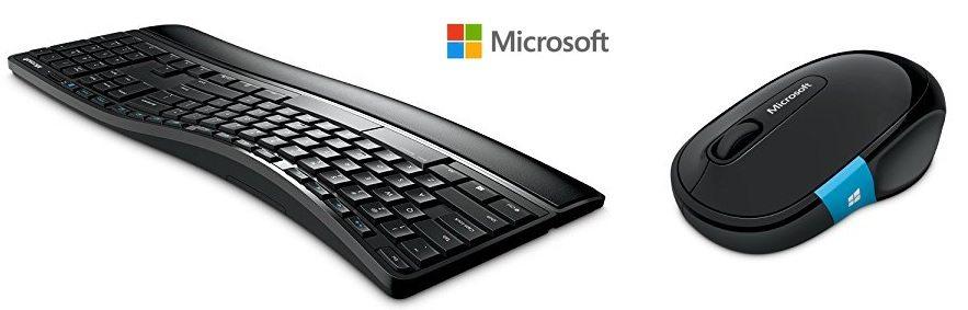 Pack de teclado y ratón Microsoft Sculpt Comfort Desktop inalambricos