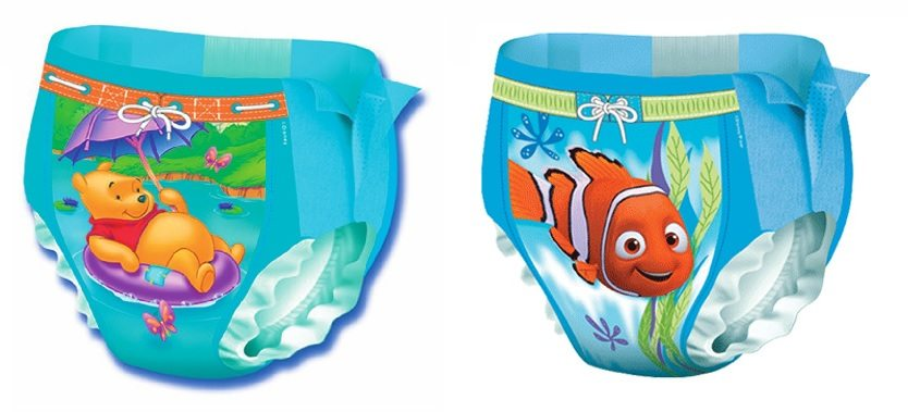 Bañadores desechables Huggies Little Swimmers de disney