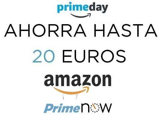 Ahorra hasta 20 euros en Prime Now
