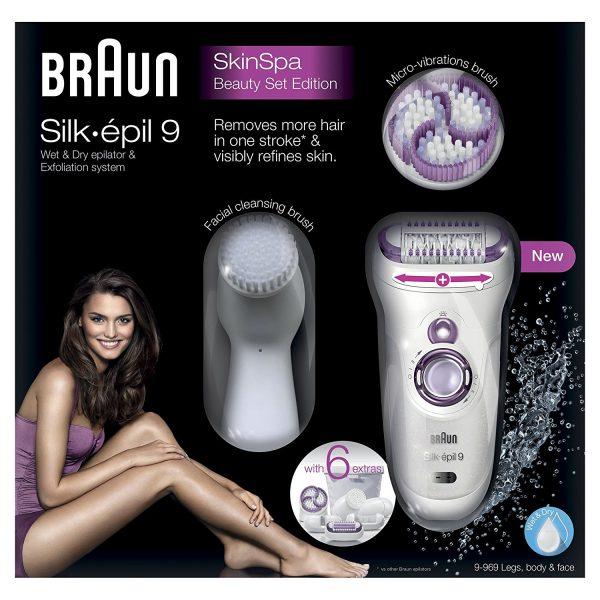 Braun Silk-épil 9 SkinSpa 9-969