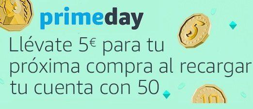 Llévate 5€ para tu próxima compra al recargar tu cuenta con 50€