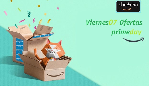 Ofertas del Viernes. Amazon Prime Day.