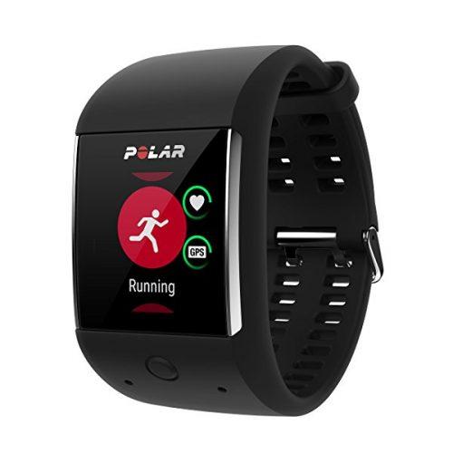 Smartwatch Polar M699 con GPS integrado y pulsómetro HR en la muñeca