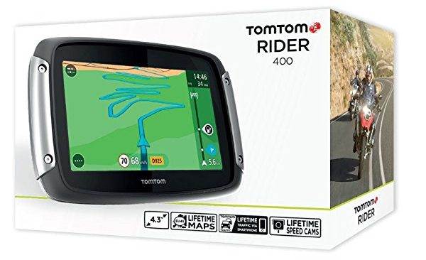 TomTom RIDER 400 GPS para moto.