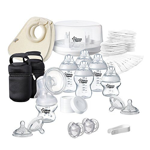 Pack de esterilizador para microondas y sacaleches Tommee Tippee Closer to Nature