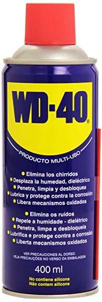 WD 40 34104 - Spray multiuso (lubricante, aflojatodo, dieléctrico, 400 ml)