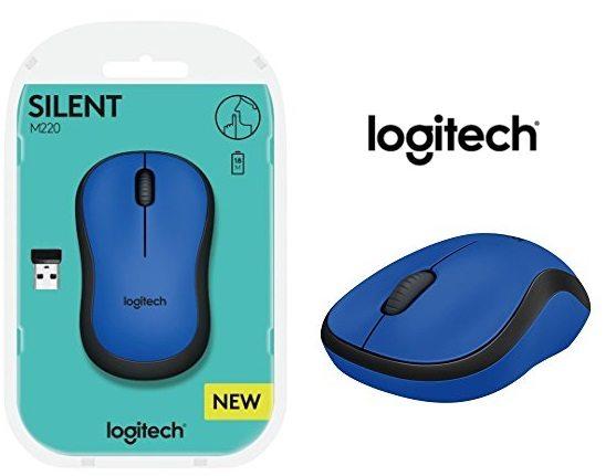 Ratón inalámbrico Logitech M220 SILENT