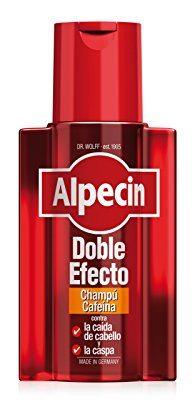 Alpecin Doble Efecto Champú Cafeína, Champú anticaída y anticaspa - 1 x 200ml