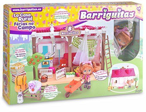 Barriguitas - Casa rural, muñeca con casa y accesorios (Famosa 700013097)